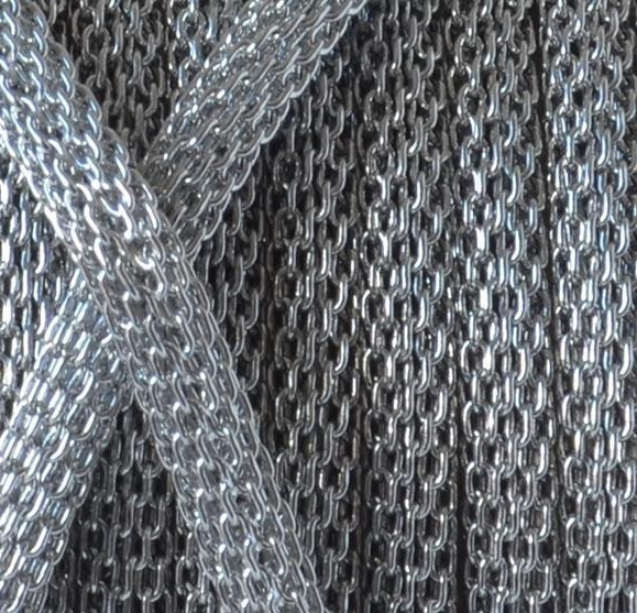 Stainless Steel Mesh Round Cord - 2.8mm - per FOOT