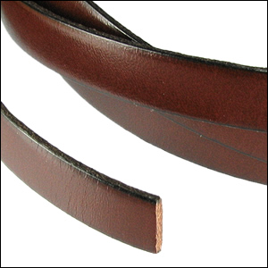 5mm leather per INCH