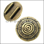 Mandala slider per piece - Brass