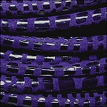 5MM ROUND CANCUN LEATHER PER INCH Purple