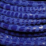 5MM ROUND CANCUN LEATHER PER INCH Royal Blue