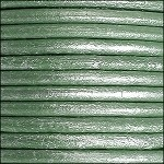 5MM ROUND EURO LEATHER PER INCH - Teal