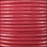 2mm Leather Spool Pink
