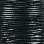 1.5mm Leather per 3 yards black