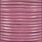 2mm Leather per 3 yards Dusty Pink