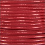 1mm Leather per spool Brick Red