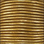 Metallic 2mm Leather per 3 yards Bronze