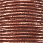 Metallic 1mm Leather per Spool Copper