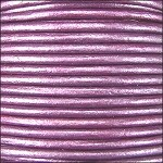 Metallic 2mm Leather per 3 yards Purple