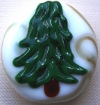 Tree 2 Glass Lampwork Beads
