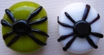 Spiders Glass Lampwork Beads