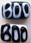 Boo 1 Glass Lampwork Beads