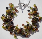 Tortoise Shell Jangle Bracelet
