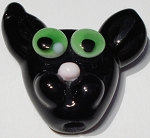 Cat Glass Lampwork Beads