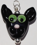 Cat Glass Pendant