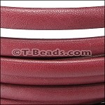 MINI Regaliz™ Leather Oval per inch PLAIN burgundy