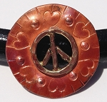 Patricia Healey Copper - Peace Disc