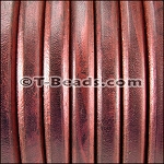 Regaliz™ Leather - Metallic Burgundy