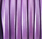 Regaliz™ Leather - Matte Metallic Plum