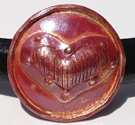 Patricia Healey Copper - Heart Disc