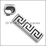 Regaliz™ Greek Key Long Tube