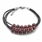 Floating Bead Bracelet Kit - Red