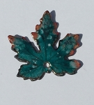 Gardanne Maple Leaves - Teal