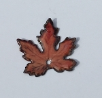 Gardanne Maple Leaves - Burnt Orange