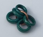 C-Koop - 5mm Round Slice - Teal