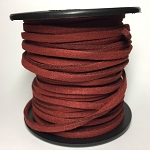 Microfiber Suede 5 Yards - Wine Red