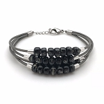 Floating Bead Bracelet Kit - Black
