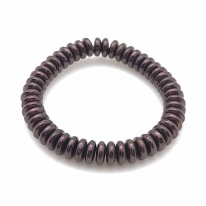 Burgundy Opaque with Metallic Brown Finish - 6mm disc spacer