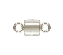 Sterling Silver 4mm Magnet Clasp