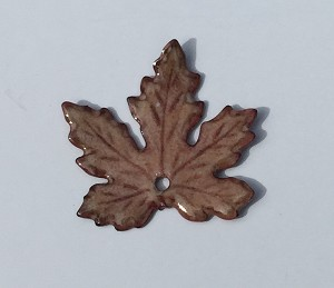 Gardanne Maple Leaves - Peach