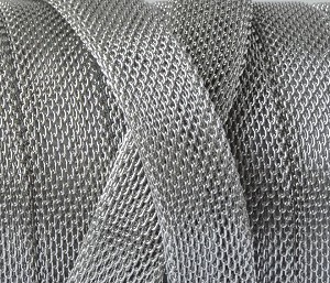 Stainless Steel Mesh Chain - 10mm - per inch