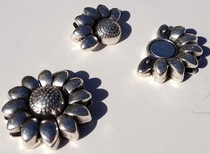 Flower 10mm Magnetic clasp