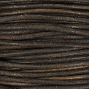 1mm Leather per spool a.brown