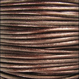 Metallic 1.5mm Leather per 3 yards Tamba