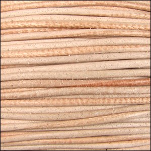 2mm Leather per 3 yards natural