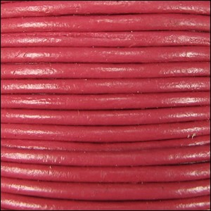 1mm Leather per spool pink