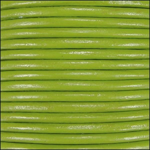 2mm Leather Spool Moss Green