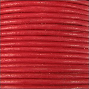 1.5mm Leather per 3 yards Crimson