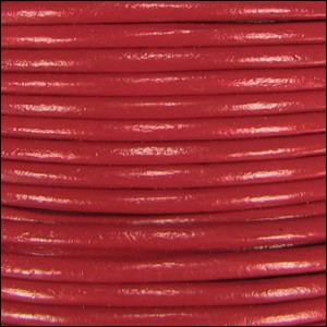 2mm Leather per 3 yards Brick Red
