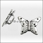 Butterfly slider ANT SILVER per piece