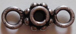 Jangle Spacer - Sterling Silver