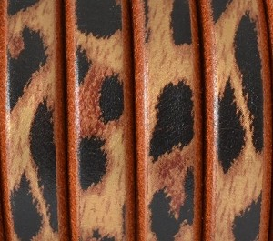 Regaliz™ Leather - Leopard Print