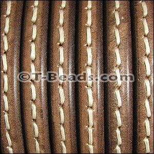 Regaliz™ Leather - Stitched Brown