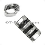 Regaliz™ Cut Out Tube Spacer Ant Silver