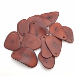 Tagua Nut Thin Slice - Brown