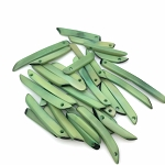 Tagua Nut Sticks - Lime Green